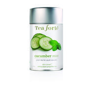 Skin-smart loose leaf tea cucumber mint: with green tea for youth recovery
