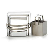 Stainless Steel Square Biscuit Cutters Set of 4