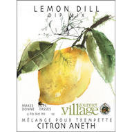 Gourmet du Village Dip Recipe Box Lemon Dill