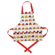 Laminated Kid's Apron Tortoise