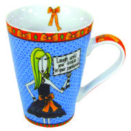 Dolly Mama Laugh Until You Tinkle Mug