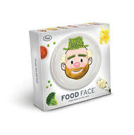 Fred FOOD FACE DINNER PLATE make faces at the table