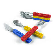 Fred SNACK 'N STACK UTENSIL SET take-along utensils
