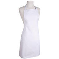 Full Apron Basic White