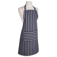 Full Apron Basic Butcher Stripe