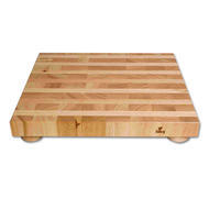Butcher Block with Feet 16x18x2.75""