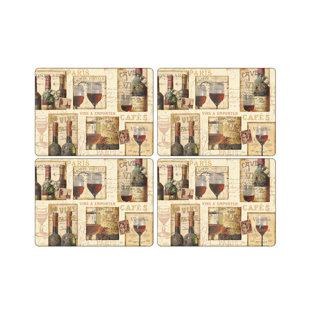 The French Cellar Coaster Set of 6 by Pimpernel