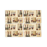 "Pimpernel Placemat French Cellar set of 4 12""x16"""