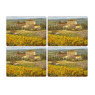 "Pimpernel Placemats Luncheon Tuscany Set of 6  9""x12"""