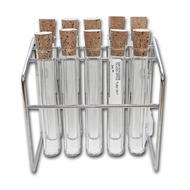 Glass Tube Spice Jar Set with 10 Tubes