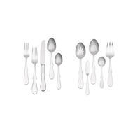 Wedgewood Vera Wang Silhouette 45- Piece Stainless Flatware