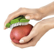 Cuisipro Flexible Vegetable Brush Green