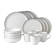 Gordon Ramsay by Royal Doulton  Bread Street White 16-Piece Set