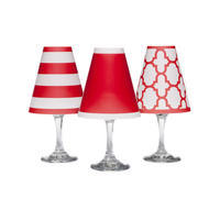 Wine Shades Set of 6 Poppy