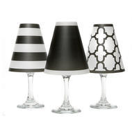 Wine Shades Set of 6 Black