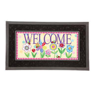 Sassafras Decorative Mat Insert Garden Friends