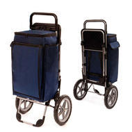 Pescatore Shopping Trolley with Insulated Cooler and Seat