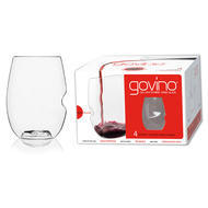 Govino Dishwasher Safe Wine Glasses Polymer set of 4 16oz