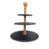 Boska Round Slate 3 Tier Cheese Tower Stand [CLONE]