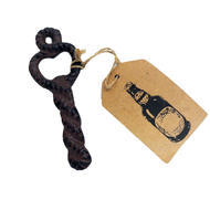 Cast Iron Rope Shaped Bottle Opener