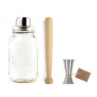 Mason Jar 3 Piece Cocktail Set