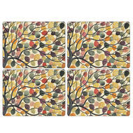 "Pimpernel Placemat Dancing Branches set of 4 12""x16"""