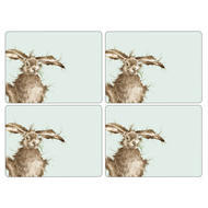 "Pimpernel Placemat Wrendale Hare set of 4 12""x16"""