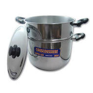 Stainless Steel Couscous Pot 24cm