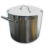 Stainless Steel Stock Pot 20qt with Lid