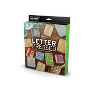 LETTER PRESSED COOKIE CUTTERS cookies with something to say