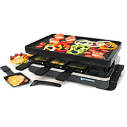 8 person Clasic Raclette Party Grill